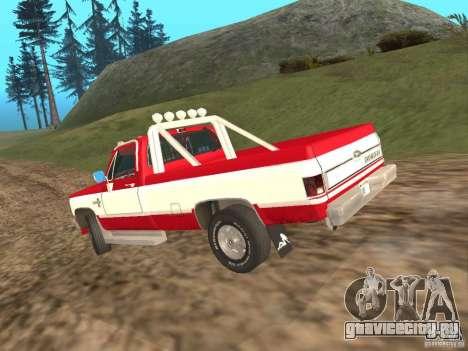Chevrolet Silverado 2500 для GTA San Andreas вид справа