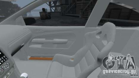 Ford Focus ST для GTA 4 вид сзади