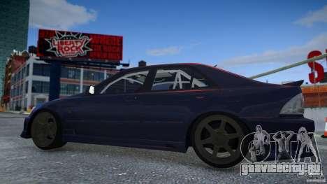 Toyota Altezza для GTA 4 вид изнутри