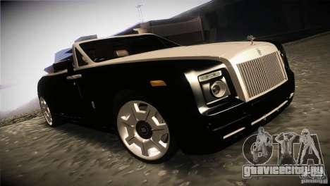 Rolls Royce Phantom Drophead Coupe 2007 V1.0 для GTA San Andreas вид сзади