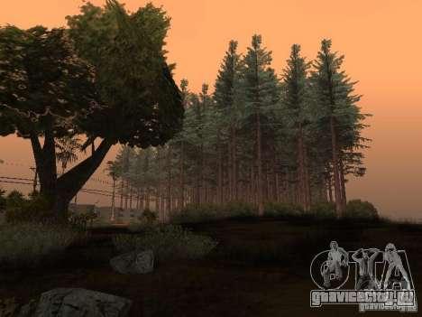 Лес в Las Venturas для GTA San Andreas