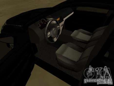 Chevrolet Vectra Elite 2.0 для GTA San Andreas вид сбоку
