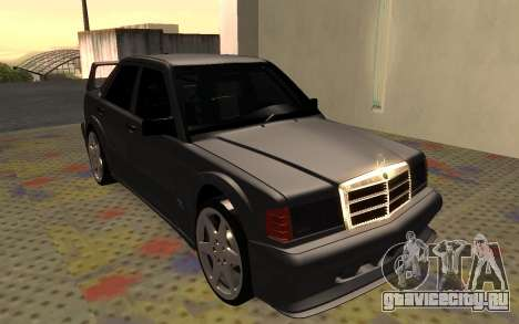 Mercedes-Benz 190E Evolution II 2.5 1990 для GTA San Andreas вид слева