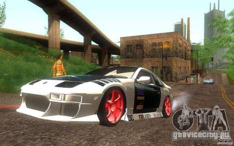 Nissan 300ZX для GTA San Andreas вид слева