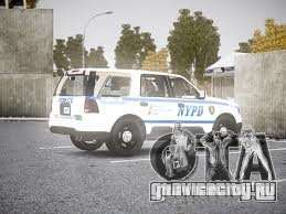 Ford Expedition Truck Enforcement для GTA 4 вид сзади