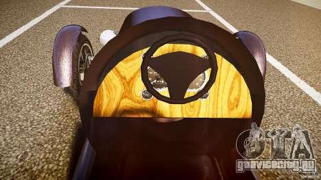 Vintage race car для GTA 4 вид сверху