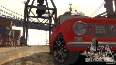 ВАЗ 2101 Light Tun для GTA 4 вид изнутри