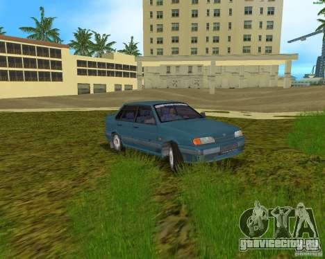 Lada 2115 для GTA Vice City вид сзади слева