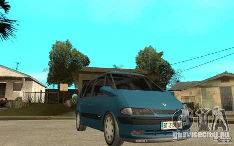 Renault Espace III 1999 для GTA San Andreas вид сзади