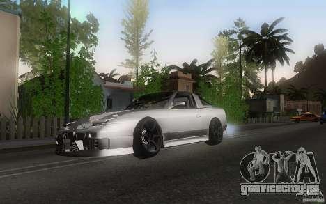 Nissan 180sx v2 для GTA San Andreas вид слева