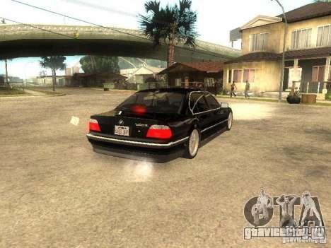 BMW 750iL для GTA San Andreas вид слева