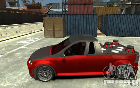 Dacia Pick-up Tuning для GTA 4 вид слева