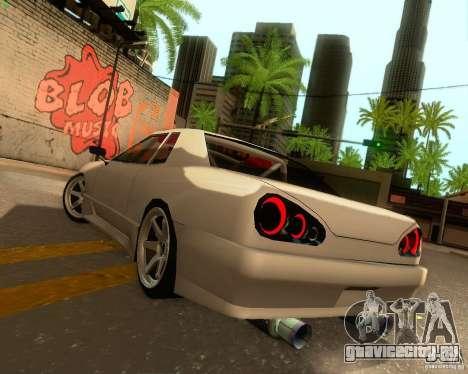 Elegy Drift Korch для GTA San Andreas вид сверху