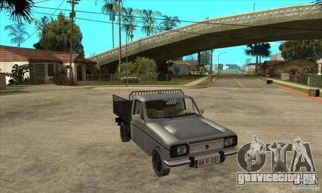 Anadol Pick-Up для GTA San Andreas вид сзади