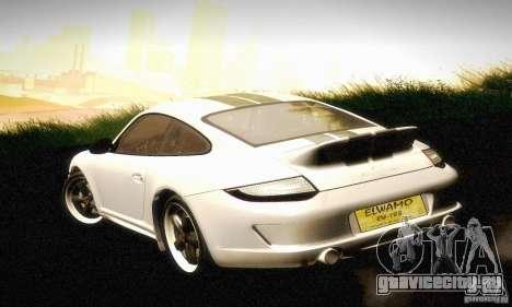 Porsche 911 Sport Classic для GTA San Andreas вид справа