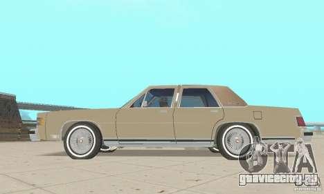 Mercury Grand Marquis LS 1986 для GTA San Andreas вид справа