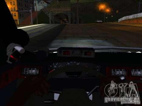 Chevrolet Impala NYPD для GTA San Andreas вид сверху