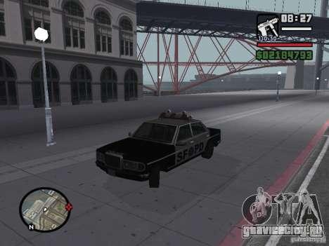 Admiral SFPD для GTA San Andreas