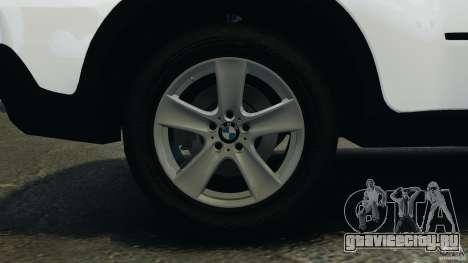 BMW X5 xDrive48i Security Plus для GTA 4 вид сверху