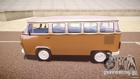 Volkswagen Kombi Bus для GTA 4 вид сзади