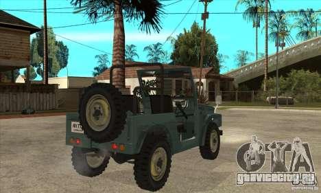 Suzuki Jimny для GTA San Andreas вид справа