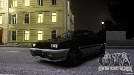Blista Pick Up для GTA 4 вид изнутри