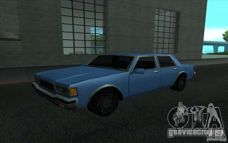 Civilian Police Car LV для GTA San Andreas