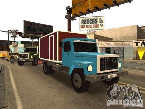 ГАЗ 3309 для GTA San Andreas