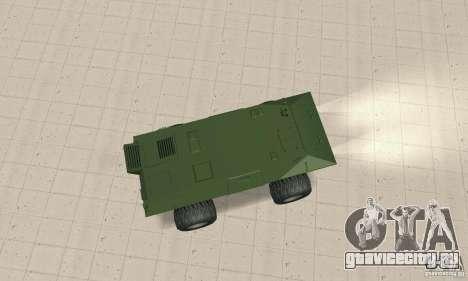 Trail Monster V.1.0 для GTA San Andreas вид сзади слева