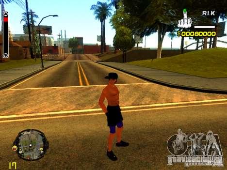 Пляжный человек для GTA San Andreas четвёртый скриншот