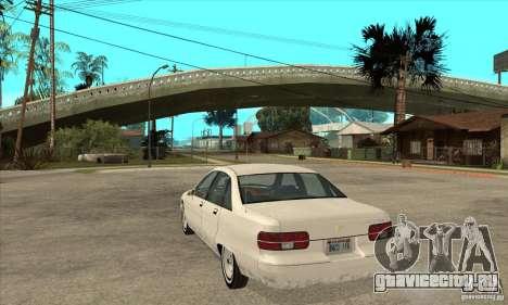 Chevrolet Caprice 1991 для GTA San Andreas вид сзади