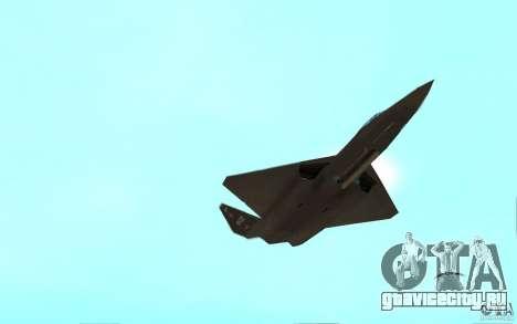 YF-23 для GTA San Andreas вид справа