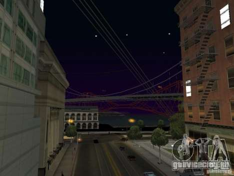 New Sky Vice City для GTA San Andreas второй скриншот