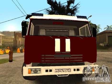 КамАЗ 43253 Розенбауер для GTA San Andreas вид справа
