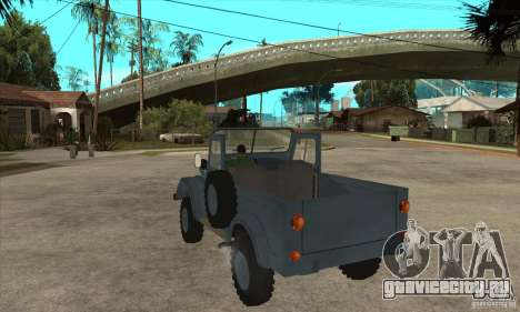 ARO Simple для GTA San Andreas вид сзади слева