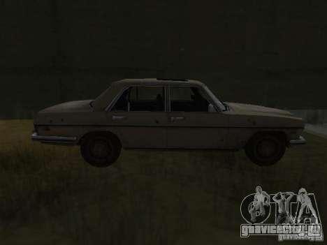 Mercedes-Benz из Call of Duty 4 для GTA San Andreas вид слева