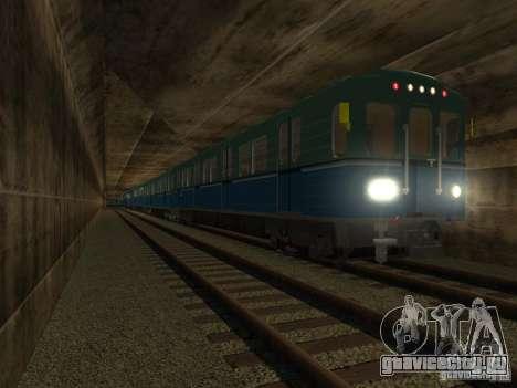 Метро типа Е для GTA San Andreas вид справа