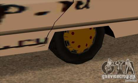 Покраска для Savanna для GTA San Andreas четвёртый скриншот