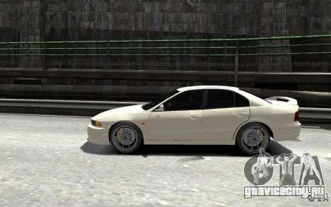Mitsubishi Galant 8 VR-4 для GTA 4 вид слева