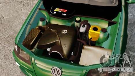 Volkswagen Gol G4 Edit для GTA 4 вид сзади