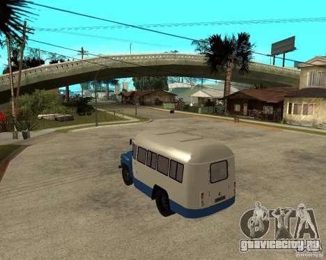 Автобус КАВЗ-685 для GTA San Andreas вид сзади слева