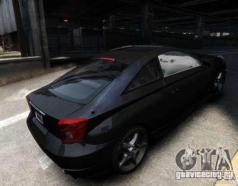 Toyota Celica для GTA 4 вид справа