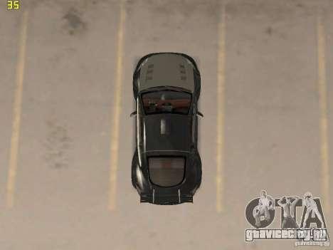 Mitsubishi Eclipse GT NFS-MW для GTA San Andreas вид сзади