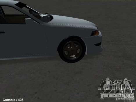 Toyota Mark II 100 1JZ-GTE для GTA San Andreas вид справа
