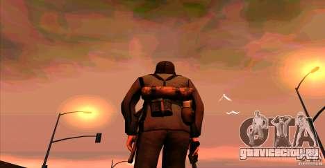 Солдат Вермахта для GTA San Andreas третий скриншот