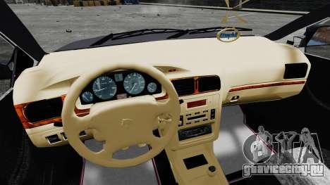 Iran Khodro Samand LX для GTA 4 вид сзади