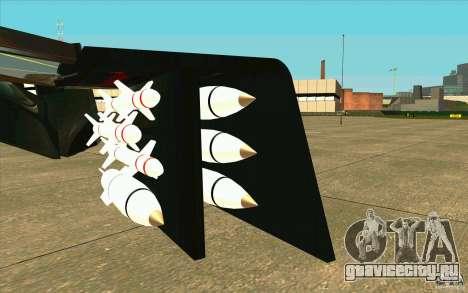 Aliens vs. Predator Marine Drobship для GTA San Andreas вид изнутри