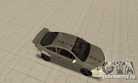 Chevrolet Cobalt SS NFS ProStreet для GTA San Andreas вид сзади