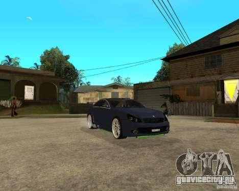 Mercedes-Benz CLS500 The GreenFairy TUNING для GTA San Andreas вид сбоку