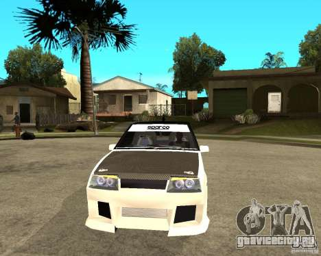ВАЗ 2108 eXtreme для GTA San Andreas вид сзади